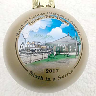 Photo of the Christmas Ornaments for sale in the store