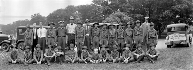 1929 Spruce Pine Boy Scouts Go To Washington