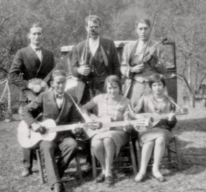 The Carolina Ramblers at Glen Ayre in the 1940's.