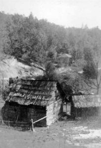 The home of Sam Cresawn at Turkey Cove below Little Switzerland.