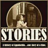 Logo for the Stories Podcast