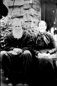 Photo of Joseph and Catherine Buchanan Ellis