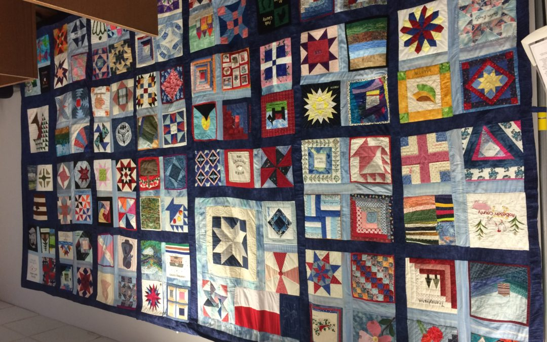 North Carolina 100 County Quilt Comes To Mitchell County