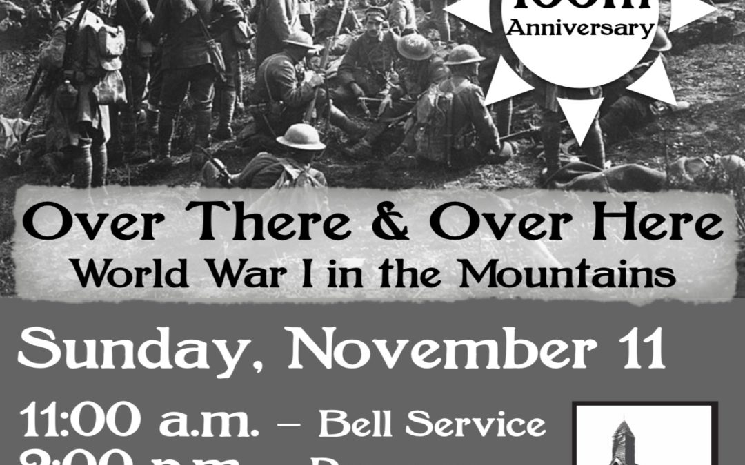 Over There & Over Here – The Mitchell County Historical Society Honors the 100th Anniversary of WWI