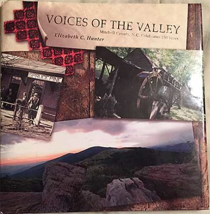 Photo of the cover of the Voices of the Valley Book