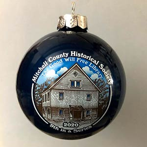 Photo of the Good Will Free Library ornament