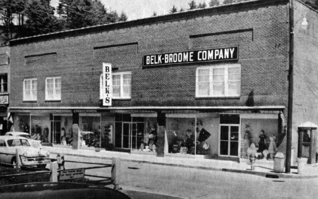 Belk-Broome Store in Spruce Pine