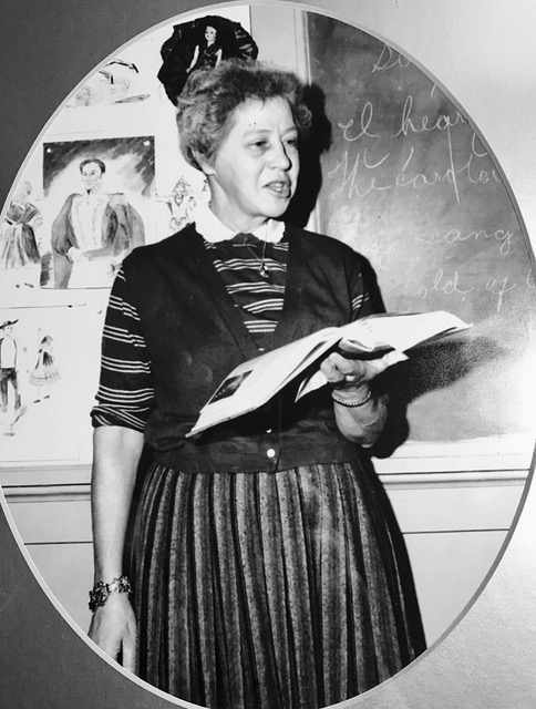 Miss Helen McBee, Gem of Mitchell County