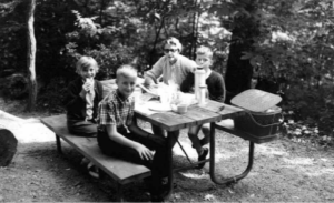 Parkway visitors enjoy picnicking and camping at the Crabtree Meadows Campground and Picnic area on the Blue Ridge Parkway.