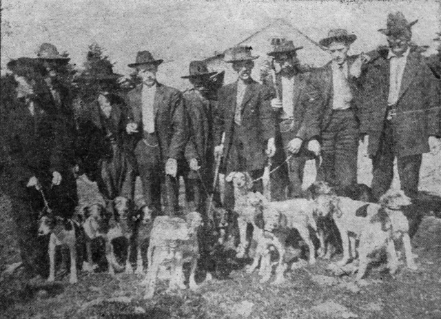 Fox Hunters on the Roan