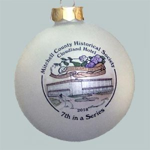 Photo of the 2018 Cloudland Hotel Ornament