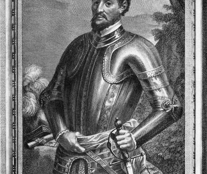 Hernando DeSoto Visited Mitchell County in May of 1540