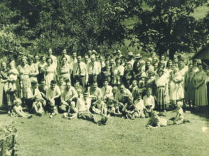 1950 Pitman Reunion on Hawkins Branch, Minpro Community.