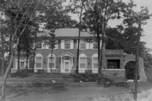 Dr. Peterson and his wife, Norene McCall (1886-1967), built a large brick home on a Spruce Pine hillside; the house still stands near the Spruce Pine Public Library.