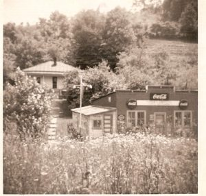 Old Griffith Store at Tipton Hill
