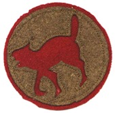 """The 321st was called the """"Wildcat"""" Division as a nod to the short-tempered wildcats of the South."""