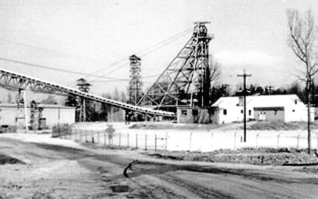 Working In The Mines ~ Mitchell County to Vance County