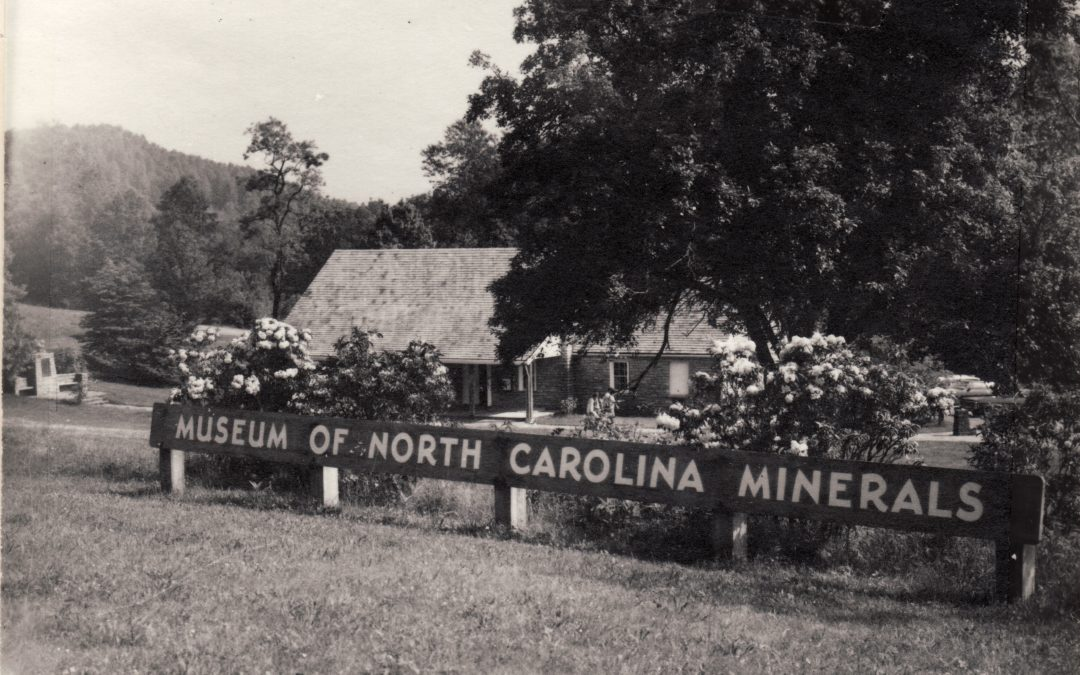 1955 – The Museum of North Carolina Minerals is Opened With Great Fanfare at Gillespie Gap