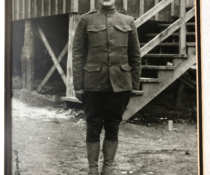 Cloyd Decatur Thomas, World War I Veteran