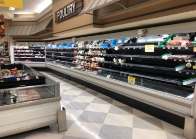 Photo of the Poultry Aisle at Ingles, March 25, 2020