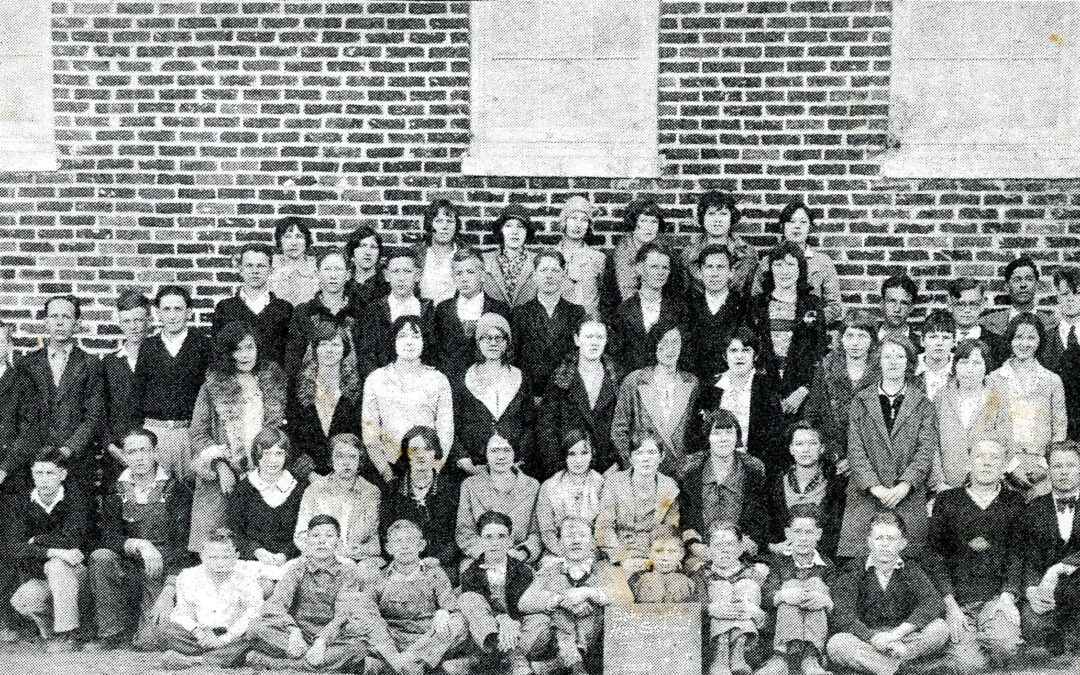 Graduation Time – The Bowman High School Class of 1933