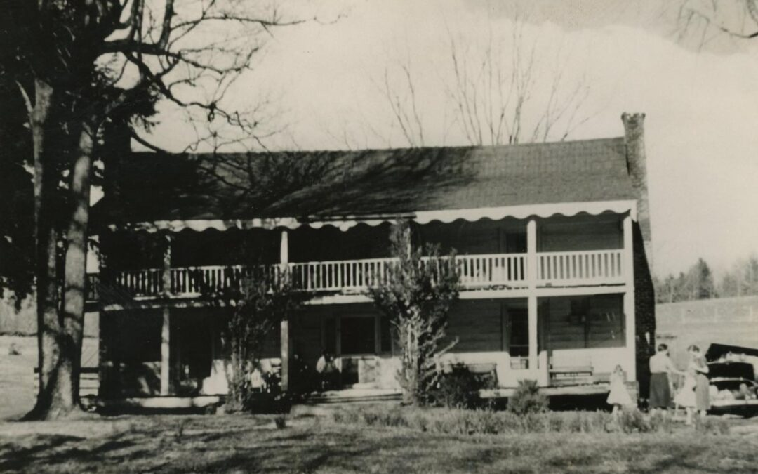The Greenlee House Once Stood Proud on Grassy Creek